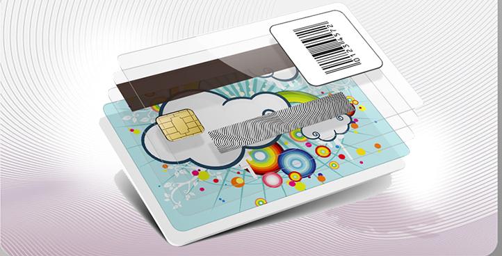 چاپ متنوع انواع کارت پی وی سی